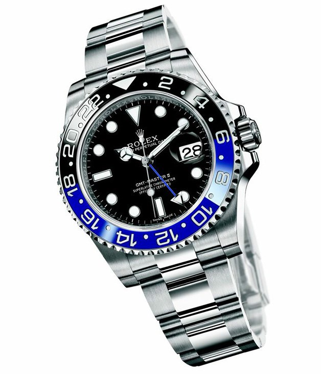 **Rolex Oyster Perpetual GMT - Master II** Looking to make a splash? This striking Oyster Perpetual GMT - Master II watch from Rolex is it. It's got a separate 24-hour hand, features three different time zones and it's unisex, too, making it all the more easy to share. _$10,340, (02) 9236 0411_