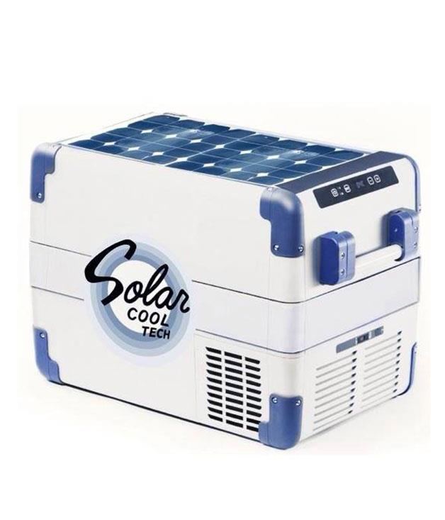 """**A solar-powered chilly bin** Beach trips are about to get a whole lot cooler thanks to this smart new Esky from [Solar Cool](http://solarcooltech.com/ """"Solar Cool""""). It harnesses the power of the sun to refrigerate your drinks and food, and provides extra power for charging electronic devices."""