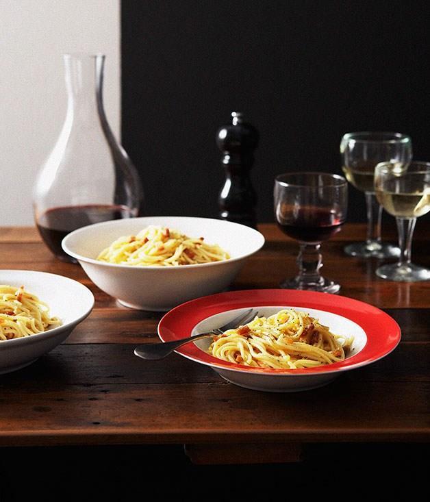 **Spaghetti carbonara**