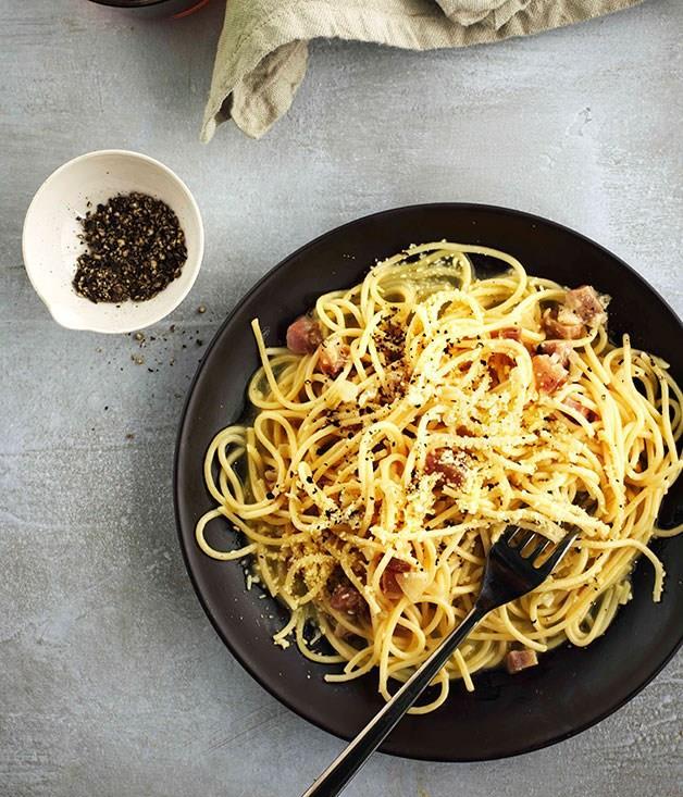 **Spaghetti alla gricia**
