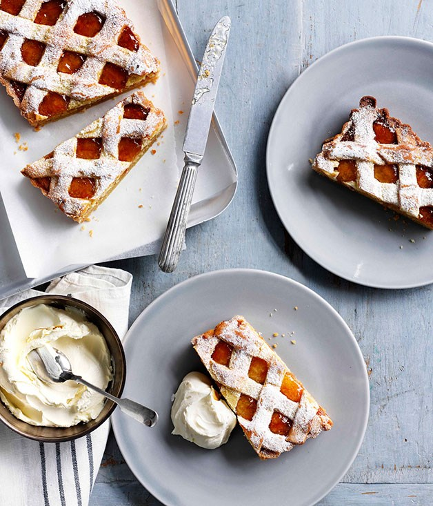 **Marmalade and almond tart**