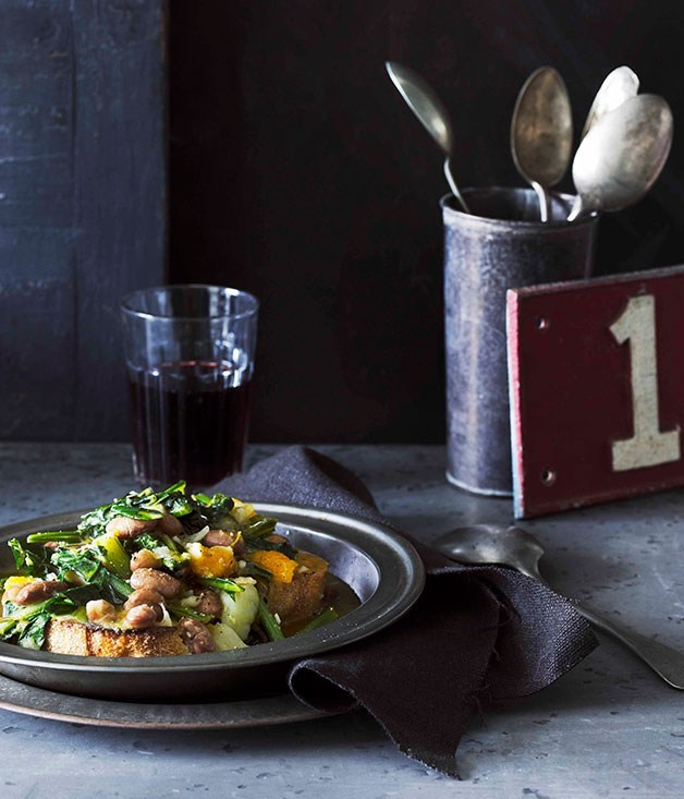 "[**Zuppa frantoiana**](https://www.gourmettraveller.com.au/recipes/browse-all/zuppa-frantoiana-10781|target=""_blank"")"