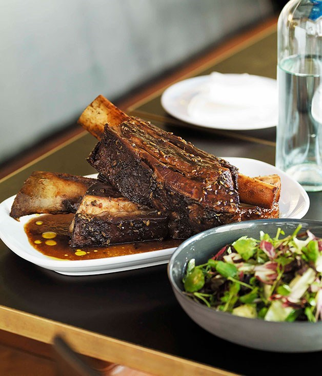 **Braised beef short ribs with fennel seeds**