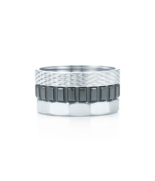 """**Tiffany & Co. Picasso Ring** Add some sparkle to your autumn look with this striking stainless steel """"Caliper"""" ring from [Tiffany & Co.](http://www.tiffany.com.au """"Tiffany & Co."""")'s Paloma Picasso collection. $645."""