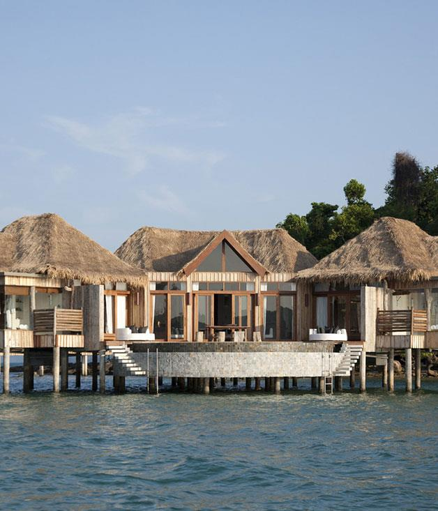 """**Song Saa, Cambodia** This [private island resort](http://www.songsaa.com """"Song Saa"""") off the south coast of Cambodia raises the bar for five-star eco luxury with its rustic overwater villas, pristine marine park surrounds and conservationist philosophy. A real gem."""
