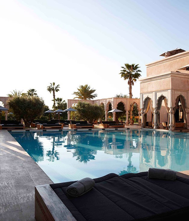 """**La Mamounia, Morocco** """"This [one-of-a-kind property](http://www.mamounia.com """"Mamounia"""") was built in 1923 and its Andalusian-Arab and Berber décor were given new lustre in a three-year renovation completed in 2009,"""" writes _GT_'s Pat Nourse. """"Padding barefoot around one of its big suites, from cool marble to timber to rug to tile, presents plenty to like."""" Suite as."""