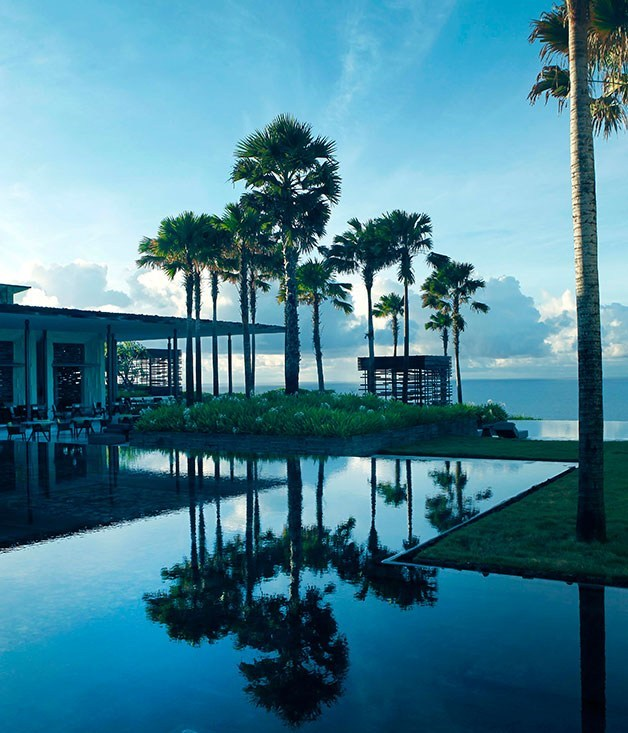 """**Alila Villas Uluwatu, Indonesia** Perched on the sandstone cliffs of Bali's southern coastline, [Alila Uluwatu](http://www.alilahotels.com/uluwatu """"Alila Uluwatu"""") shines bright with its understated modern Indonesian architecture, in-villa infinity pools, top-end eating and world-class spa."""