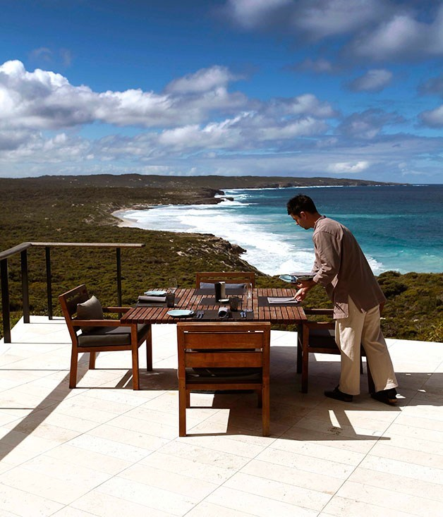 "**Southern Ocean Lodge, Australia** There's no better place to take in the rugged, isolated coast of Kangaroo Island than from the comfort of a suite at [Southern Ocean Lodge](http://www.southernoceanlodge.com.au ""Southern Ocean Lodge""). Among the spoils, a walk-in wine cellar, fantastic produce-focused dining and some seriously comfortable bathrobes."