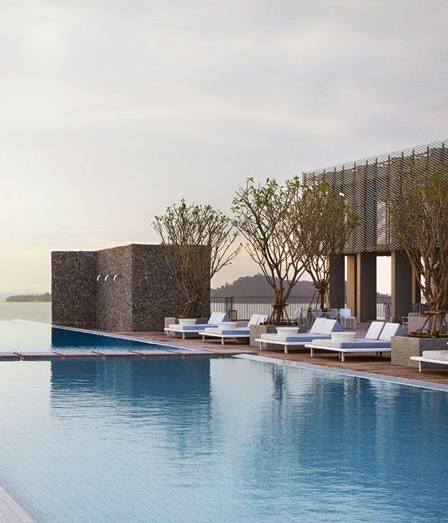 """**Point Yamu by Como, Thailand** Looking for a holistic wind-down? [The Como](http://www.comohotels.com """"Como Hotels"""") family's newest member in Cape Yamu, Phuket, is just the ticket with its extensive spa and wellness program, spacious villas and spectacular outlook over the Andaman Sea."""