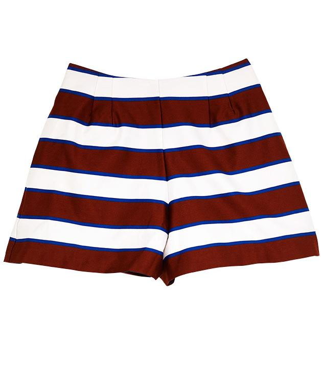 """**ASOS Petite shorts in Multi Stripe** Catch the last of the season's rays in these high-waisted cotton shorts from [ASOS](http://www.asos.com/au """"ASOS""""). $50.69."""