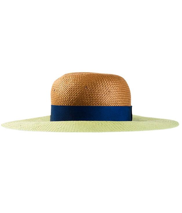 """**Lanvin sunhat** Looking to accessorise? [Lanvin](http://farfetch.com """"Far Fetch"""")'s two-tone sunhat is a great place to start. $390."""