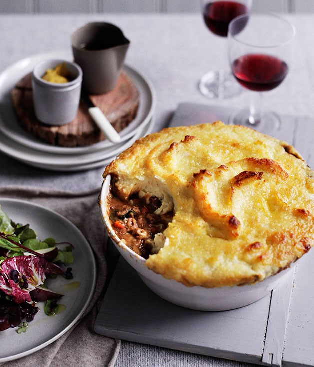 **Lamb neck shepherd's pie**
