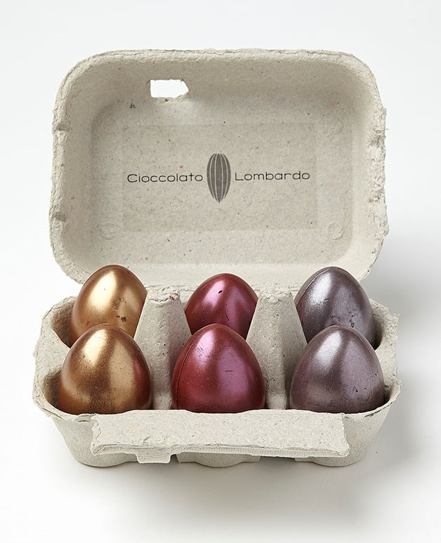 "**Metallic eggs** Sure, these eye-popping metallic eggs from Melbourne's Tad Lombardo (the chocolatier behind Attica's pukeko eggs) look impressive from the outside, but it's the hidden salted-caramel truffle on the inside that's got us hooked. The egg carton packaging is pretty neat, too_. $29.50 for a carton of six. [cioccolatolombardo.com](http://cioccolatolombardo.com/ ""Cioccolato Lombardo"")_"