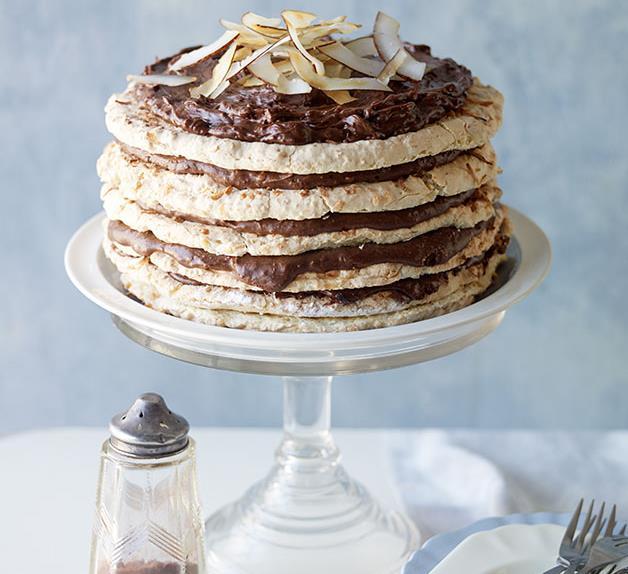 Coconut Dacquoise Cake Recipe