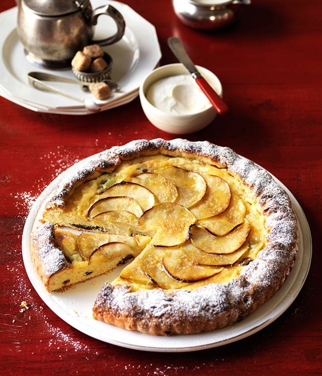 "[**Sugared apple galette**](https://www.gourmettraveller.com.au/recipes/browse-all/sugared-apple-galette-10089|target=""_blank"")"