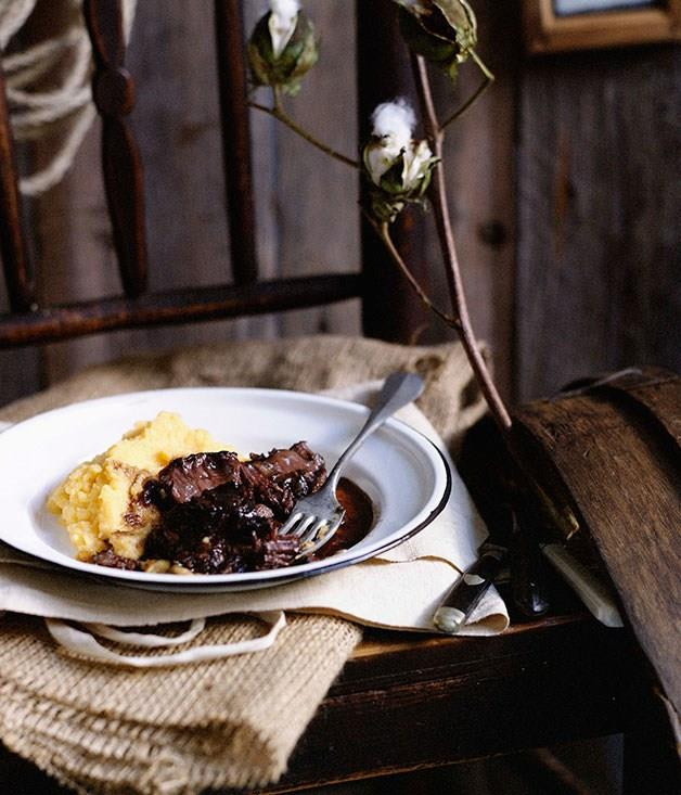 """[**Beef cheeks with creamed swede**](https://www.gourmettraveller.com.au/recipes/browse-all/beef-cheeks-with-creamed-swede-10074