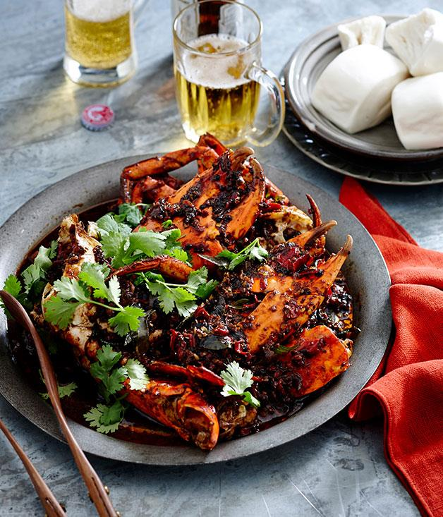 "**[Black pepper crab](https://www.gourmettraveller.com.au/recipes/browse-all/black-pepper-crab-14209|target=""_blank"")**"