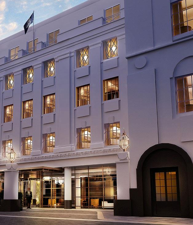 **Mayfair debut** Two of London's most celebrated restaurateurs, Jeremy King and Chris Corbin, are trying something new: The Beaumont Hotel, a 73-room luxury hotel in Mayfair scheduled to open later this year.