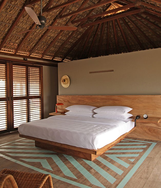 **Living la vida luxe** Hotel Escondido turns the bare essentials into an art form. The latest Mexican refuge from Grupo Habita occupies an otherwise empty beach, almost 400 kilometres south of congested Acapulco. (What a difference that distance makes.) Each of the 16 palm-thatched casitas has a plunge pool and hammock in full view of the Pacific.