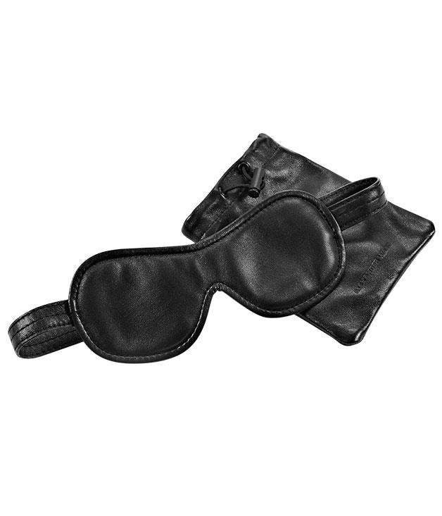 """**An editor's eye** Ever since curating became the sexy thing to do, a host of hip names have become virtual gallerists of their own style - among them Balenciaga's Alexander Wang, whose eponymous line-up now includes a signature collection of edited black-on-black """"objects"""" such as this travelling eye mask."""