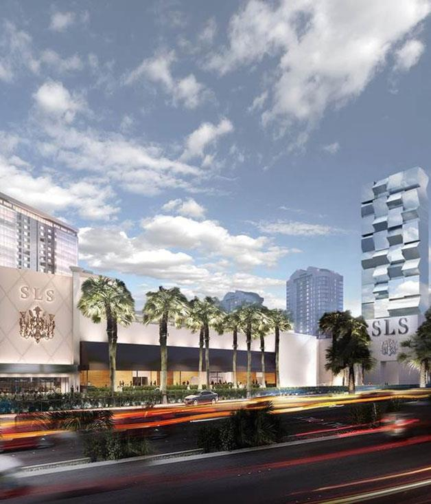 **Class in Vegas** The luxe SLS hotel group is adding Sin City to its growing list of properties in America's hotspots. The 5,500-square-metre casino, scheduled to open in September, is seeking to please food-conscious gamers with restaurants such as The Bazaar by José Andrés, Katsuya by Starck, Umami Burger and LA institution The Griddle Café.