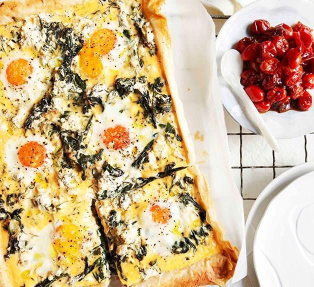 Breakfast tart - Mother's Day brunch recipes