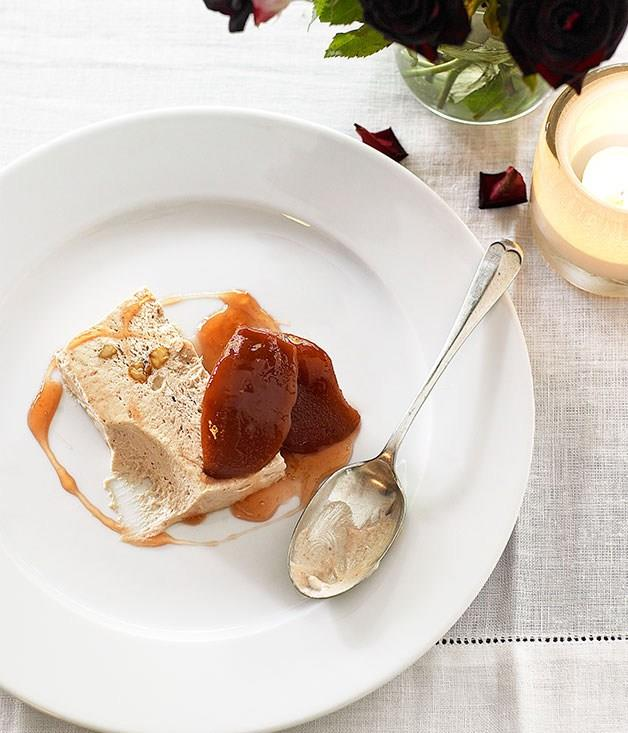"[**Quince and brown sugar parfait**](https://www.gourmettraveller.com.au/recipes/browse-all/quince-and-brown-sugar-parfait-9720|target=""_blank"")"