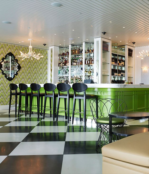 **Bistro Guillaume, Perth** Lurid splashes of lime green, big harlequin floor tiles - whimsical design flourishes conjure a Champs-Élysées-in-Wonderland vibe, yet [Bistro Guillaume](http://bistroguillaumeperth.com.au/) has the substance to match its considerable style. The menu channels the bourgeois food beloved by chef Guillaume Brahimi, but mark-ups are more fine-diner than local bistro. Fortunately, salade Niçoise packing thick oblongs of rare tuna, and winning takes on steak tartare and other classics help justify the price tag. Main courses such as wagyu rib-eye for two and pan-fried whiting with peas and speck are big on both provenance and skill.
