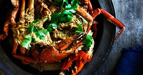 Ginger And Coconut Crab Recipe Gourmet Traveller