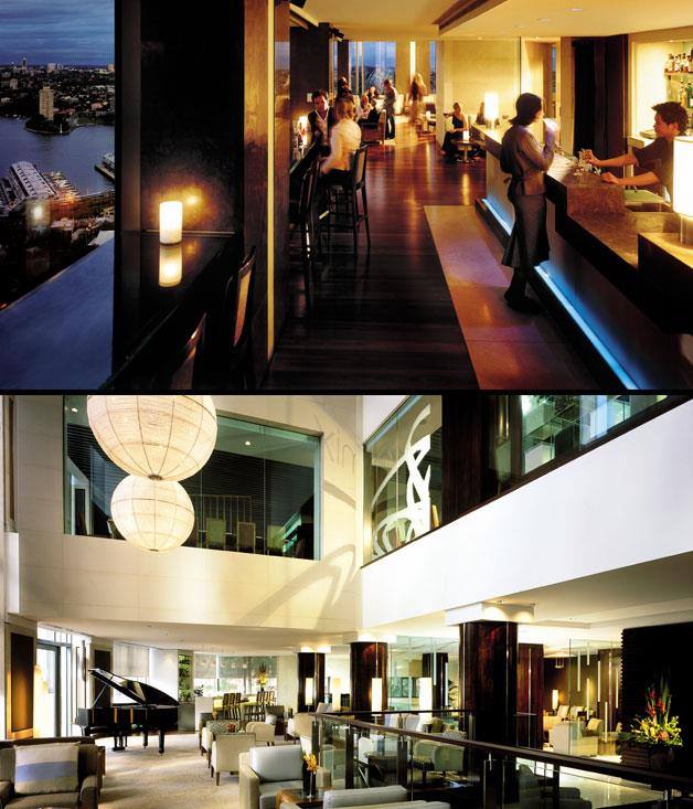 """**Best Hotel Bar** **Blu Bar on 36, Shangri-La, Sydney   **To paraphrase a line from Casablanca, of all the gin joints in all the towns in Australia, there's nothing quite like walking into Blu Bar on 36. This eye-popping space on the 36th floor of Sydney's Shangri-La hotel doesn't claim to have the most creative cocktails in the country, or the sharpest service, but it has something no other bar can beat - show-stopping views over the world's most beautiful harbour. The fact they also serve great cocktails here is almost a bonus.   [shangri-la.com](http://www.shangri-la.com/sydney/shangrila/ """"Shangri-La"""")"""