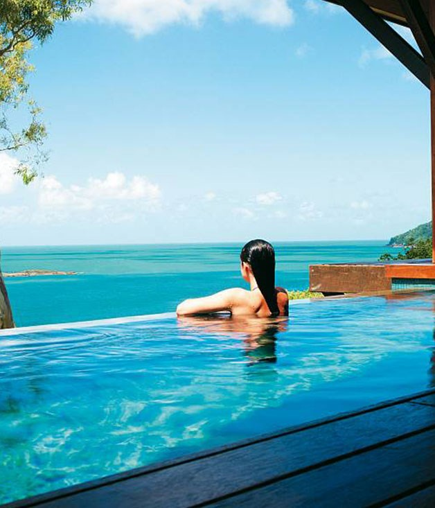 **Qualia** **Hamilton Island, Queensland**  In the heart of Queensland's Whitsundays, [Qualia](http://www.gourmettraveller.com.au/travel/travel-news-features/2007/9/qualia,-hamilton-island-escape/) is one of the country's most luxurious spa resorts and amuch sought after destination for Australian and international visitors alike.  Guests can choose from a variety of relaxing treatments, including hot stone massages and indigenous therapies, but for those looking to work up a sweat, the resort also has an in-house personal trainer.