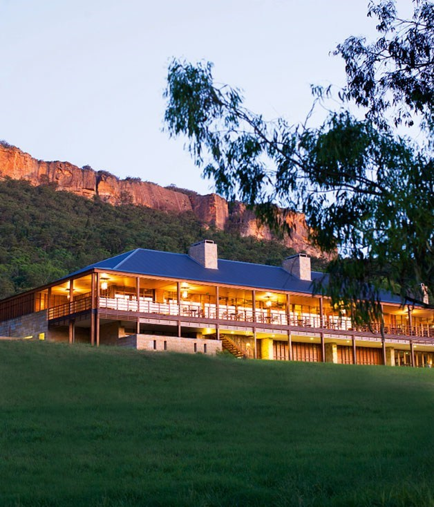 **Wolgan Valley Resort & Spa** **Lithgow, Blue Mountains, NSW**  Owned by The Emirates Group, [Wolgan Valley](http://www.gourmettraveller.com.au/travel/travel-news-features/2011/1/wolgan-valley-resort-spa/)bills itself as Australia's first luxury eco-resort, and thanks to a $125 million fit out, looks the part to a tee.  The property's Timeless Spa provides guests with an extensive menu of holistic stress-reducing beauty and massage treatments using chemical-free products in six double treatment rooms.