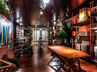Louis Vuitton's Hong Kong pop-up store