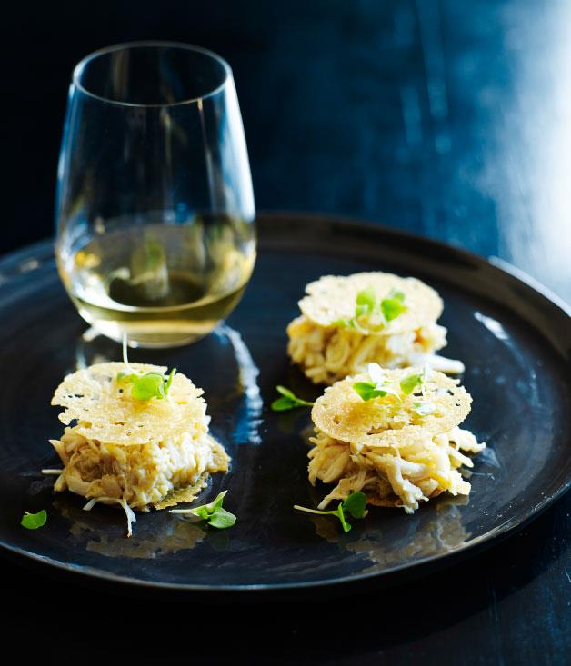 "**[Shannon Bennet's mud crab sandwich](http://www.gourmettraveller.com.au/recipes/chefs-recipes/mud-crab-sandwich-8072|target=""_blank"")**"