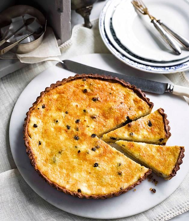 "**[Yorkshire curd tart](https://www.gourmettraveller.com.au/recipes/browse-all/yorkshire-curd-tart-11374|target=""_blank"")** <br> Originally created as a way to use the curds leftover from making cheese, today this tart serves no other purpose than to delight. And with its rich custard-like filling, it does so with ease."