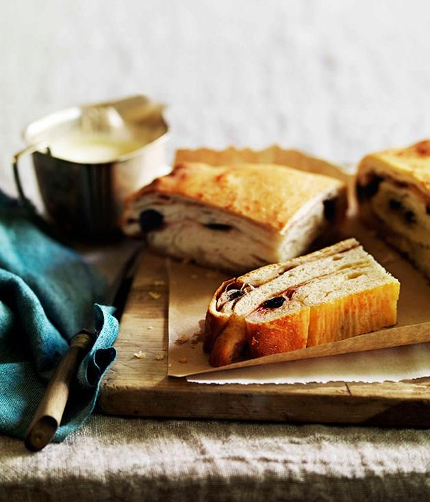 """**[Cherry lardy cake](https://www.gourmettraveller.com.au/recipes/browse-all/cherry-lardy-cake-11028 target=""""_blank"""")** <br> The name here says it all: pork lard is used to give this otherwise simple cake its rich mouthfeel. It might sound decadent but it's an enduring afternoon tea favourite."""