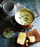 A classic cauliflower soup