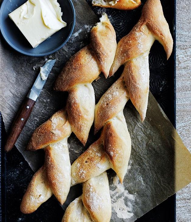 """**Baguettes and épis de blé** What better way to say """"Vive la France!"""" than with beautiful fresh baguettes?"""