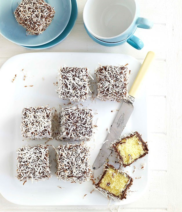**Lamingtons** We'll always have a place in our hearts for our hometown boys Australia. Cheer on the Socceroos with a good old lamington.