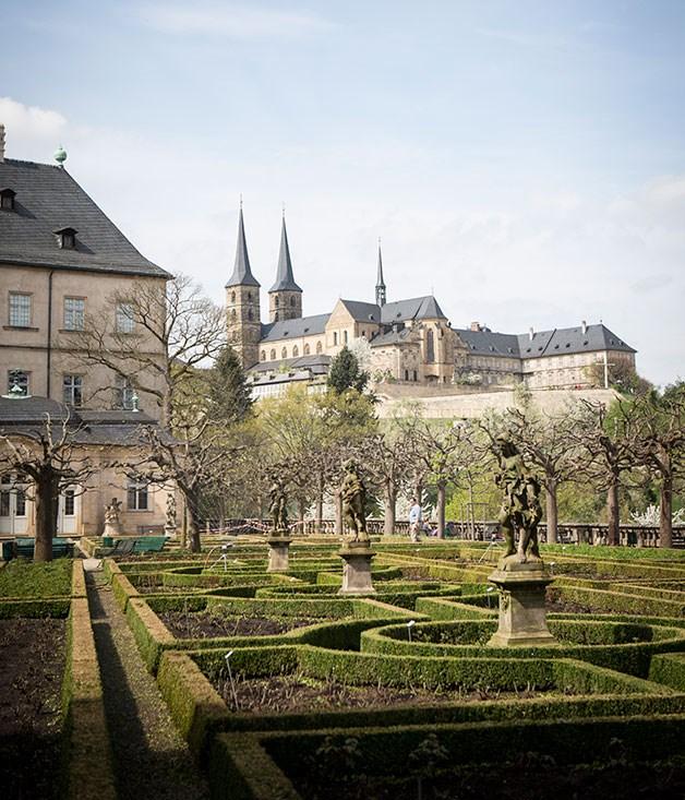 Bamberg New Residence and Rose Garden