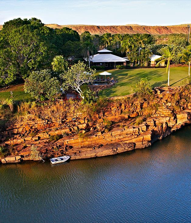 **El Questro Wilderness Park, Kimberley** Need room to stretch? World-renowned [El Questro](http://www.elquestro.com.au) has four accommodation options and a million acres in the East Kimberley. Four river systems, gorges, waterfalls, rainforest and tidal flats comprise the diverse richness that you can explore by 4WD, helicopter or horseback.