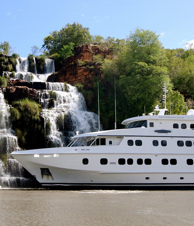 **True North Kimberley Wilderness Cruises** A floating resort with its own helicopter, the 50-metre, 36 passenger [True North](http://www.northstarcruises.com.au/cruise/kimberley) takes you up close to the billion year old gorges, waterfalls and indigenous rock art of the Kimberley. The galley will prepare plump black-lip oysters, Spanish mackerel sashimi, mud crabs on the beach at sunset and even the barramundi you caught yourself.