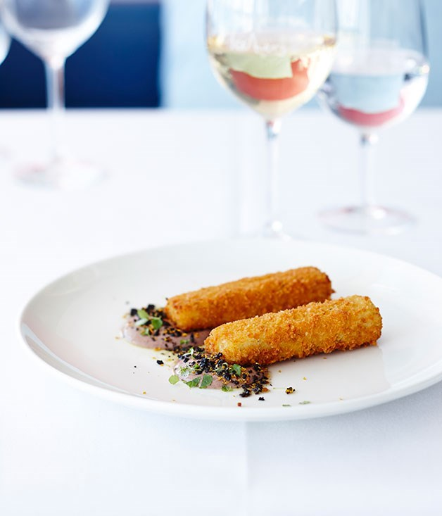 Salt cod crocchette
