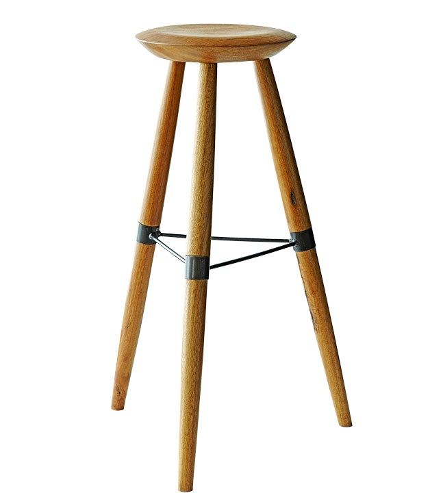 "**LYNSEY FRYERS-HEDRICK** Stools by [Tindall](http://www.tindall.net.au ""Tindall"") for [Smith and Carmody](http://www.smithandcarmody.com.au ""Smith and Carmody"")   ""Made from Australian tallow wood - I love the simplicity and architectural nature of these bespoke stools I spotted at Cornersmith café in Marrickville in Sydney. I'd like to have them made in a lower version to sit under my desk, dining table or even to use as a little side table in the loungeroom."""