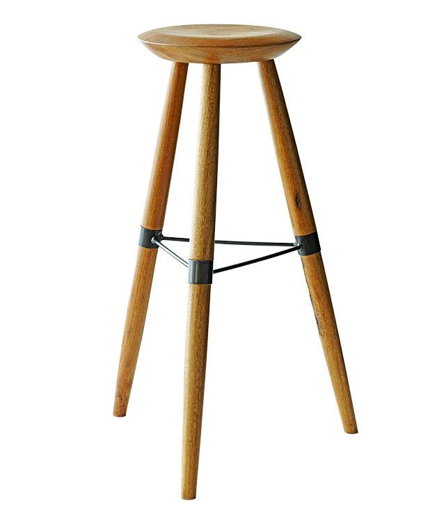 """**LYNSEY FRYERS-HEDRICK** Stools by [Tindall](http://www.tindall.net.au """"Tindall"""") for [Smith and Carmody](http://www.smithandcarmody.com.au """"Smith and Carmody"""")   """"Made from Australian tallow wood - I love the simplicity and architectural nature of these bespoke stools I spotted at Cornersmith café in Marrickville in Sydney. I'd like to have them made in a lower version to sit under my desk, dining table or even to use as a little side table in the loungeroom."""""""