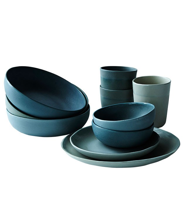 "**Ceramics by Studio Enti** ""Handmade yet practical plateware is top of my lust-list. Ceramicist Naomi Taplin's 'Porcelain Dusk' range in shades of grey is gorgeous."" From $30 from [Studio Enti](http://www.studioenti.com.au ""Studio Enti"")."