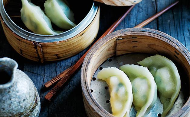 Jade prawn dumplings