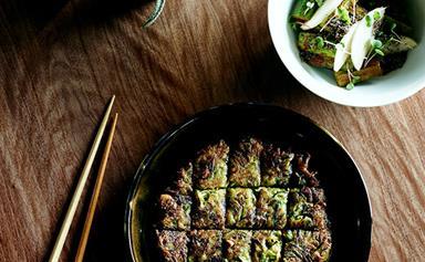 Moon Park's cucumber kimchi (oi kimchi)