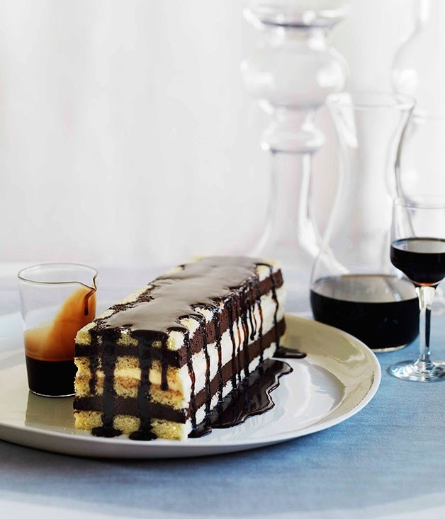 "**[Mocha layer cake](https://www.gourmettraveller.com.au/recipes/browse-all/mocha-layer-cake-10478|target=""_blank"")**"