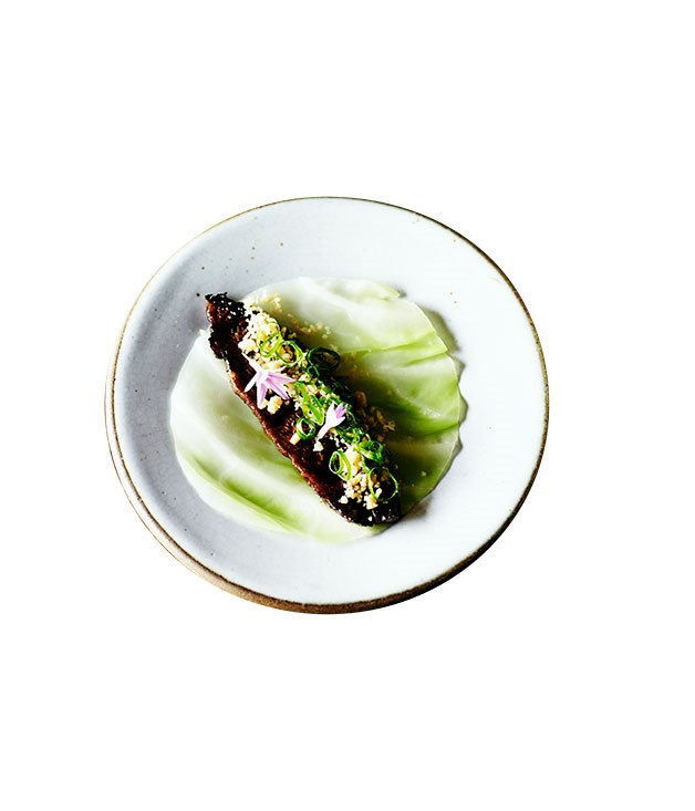 **Moon Park's marinated beef ssäm** Photography: John Laurie